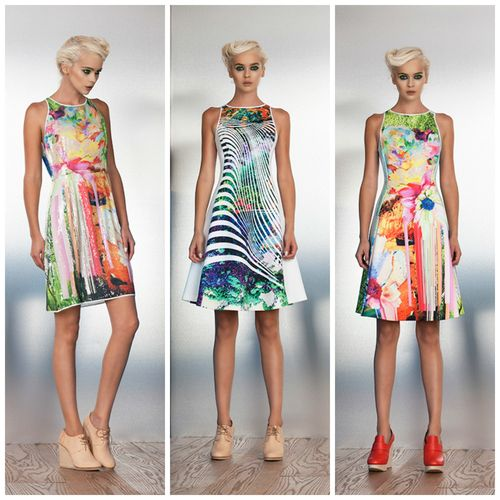 Women designer clothing clover canyon spring 2014 (6)