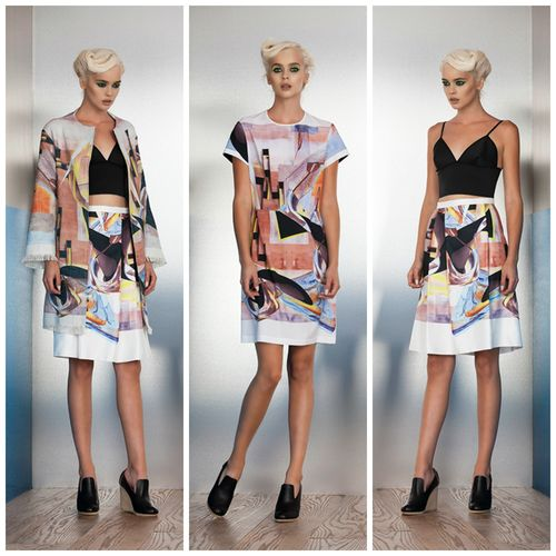 Women designer clothing clover canyon spring 2014 (1)