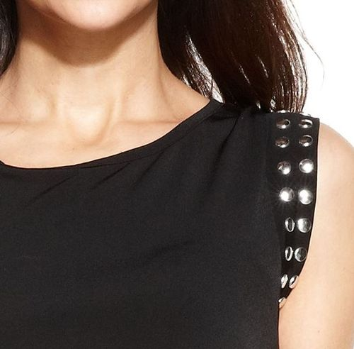 Michaal kors stud trim dress (1)