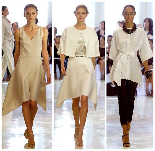 Women designer clothing spring 2014 Josie Natori (1)